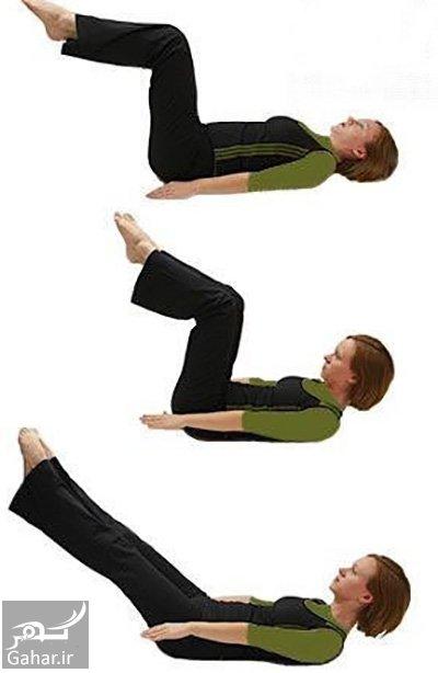 pregnancy4 exercise 2 آمادگی جسمی و تقویت شکم و کمر برای باردار شدن