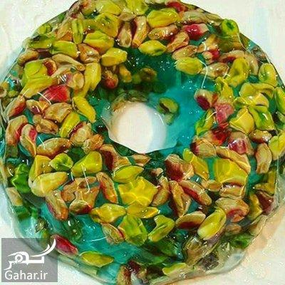 prepare2 jelly2 nuts1 آموزش درست کردن ژله آجیل