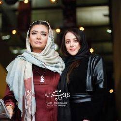 الناز حبیبی و لیندا کیانی در اکران فیلم خجالت نکش / ۵ عکس