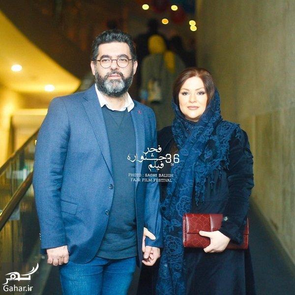 saghibaligh   Bex45e4AVJ     مصطفی کیایی و همسرش در سی و ششمین جشنواره فیلم فجر / 2 عکس