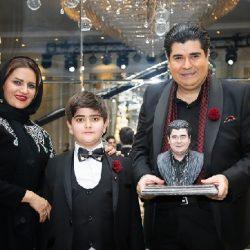 تفریح سالار عقیلی و خانواده در متل قو ; عکس