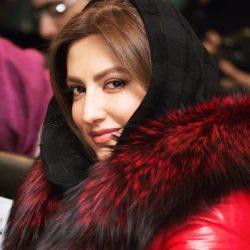 تیپ متفاوت سمیرا حسینی در جشنواره فیلم فجر ۳۶ / ۳ عکس