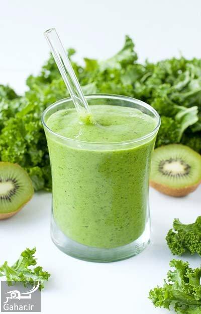 spinach kiwi smoothie طرز تهیه یک نوشیدنی چربی سوز فوق العاده
