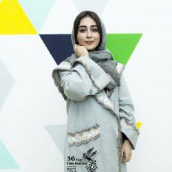 ستاره حسینی و خواهرش در جشنواره فیلم فجر ۳۶ / ۲ عکس