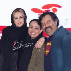 شقایق دهقان و همسر و دختر ناتنی اش در اکران خصوصی یک فیلم/ ۴ عکس