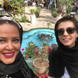 عکسهای بهاره رهنما و دخترش در تعطیلات نوروز با تیپ عجیب!