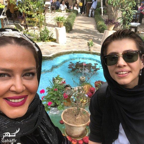 Bahare rahnama 97 عکسهای بهاره رهنما و دخترش در تعطیلات نوروز با تیپ عجیب!