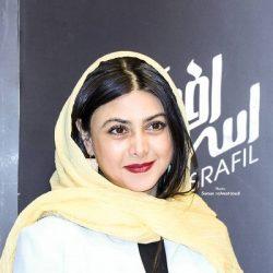 عکسهای آزاده صمدی در اکران مردمی فیلم اسرافیل