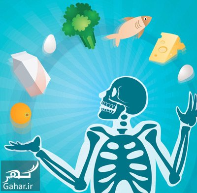 bones food1 2 مواد غذایی مضر برای سلامت استخوان ها