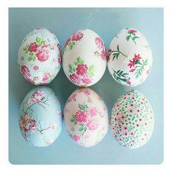 مدل تزیین تخم مرغ سفره هفت سین ۹۷