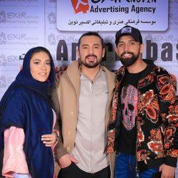 عکسهای محسن افشانی و همسرش در کنسرت امیرعباس گلاب
