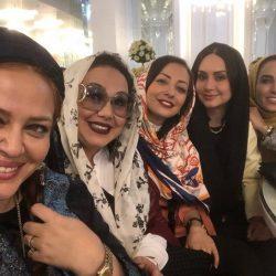 عکس تفریح بازیگران زن در روز جمعه