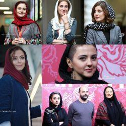 عکسهای بازیگران در سی و ششمین جشنواره جهانی فیلم فجر