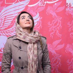 عکسهای جدید هانیه توسلی در جشنواره جهانی فیلم فجر ۳۶
