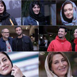 عکس های بازیگران در روز سوم جشنواره جهانی فیلم فجر