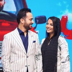 احمد مهرانفر و همسرش در اکران خصوصی فیلم خجالت نکش / ۶ عکس