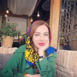 عکسهای لیلا اوتادی در مراسم افطاری کنار همکارانش