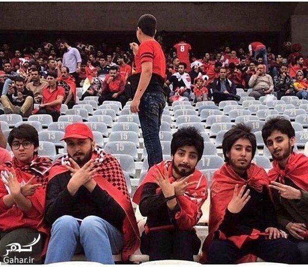 perspolis havadar عکس 5 دختری که در بازی پرسپولیس وارد ورزشگاه آزادی شدند