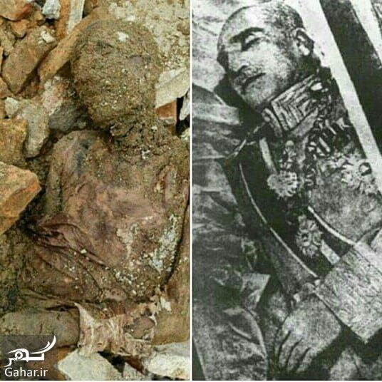 reza shah jasad جسد مومیایی رضا شاه در حرم عبدالعظیم واقعیت دارد؟ / عکس
