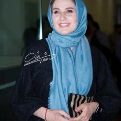 عکسهای جدید گلوریا هاردی و همسرش در اکران مردمی لاتاری