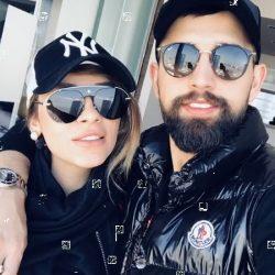 عکس محسن افشانی و همسرش پس از آزادی !