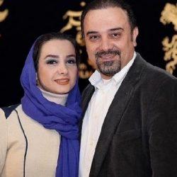 عکس ساحلی آقای بازیگر و همسر و مادرش