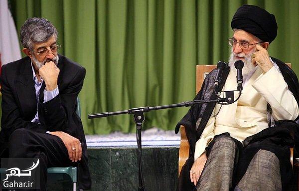 hadad adel rahbari شعر حداد عادل درباره کالای ایرانی در حضور رهبر