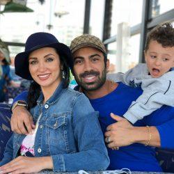 عکسهای جذاب روناک یونسی در کنار همسر و فرزندانش
