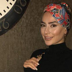 عکس متفاوت سمانه پاکدل در سالن زیبایی دوستش