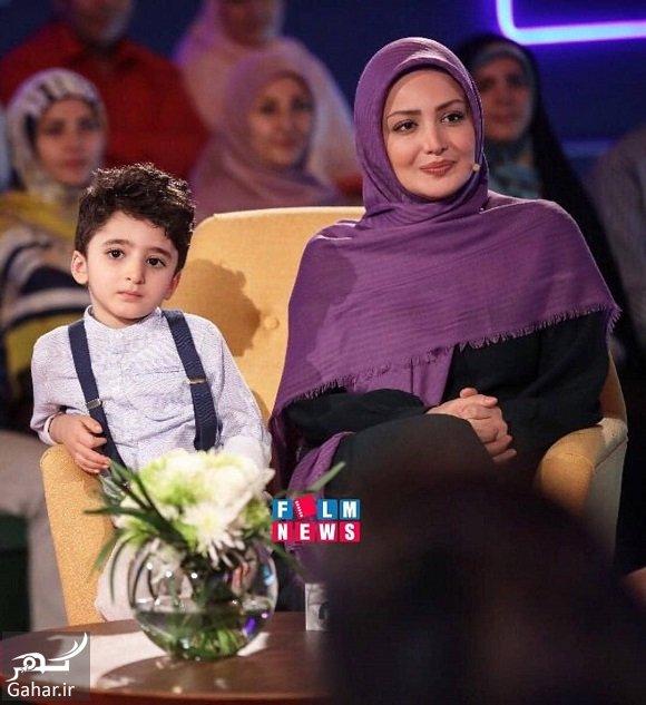 shila khodadad شیلا خداداد و فرزندش مهمان خندوانه شدند / عکس