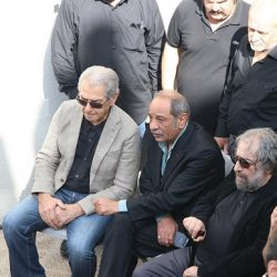 عکسهای مراسم تشییع ناصر ملک مطیعی