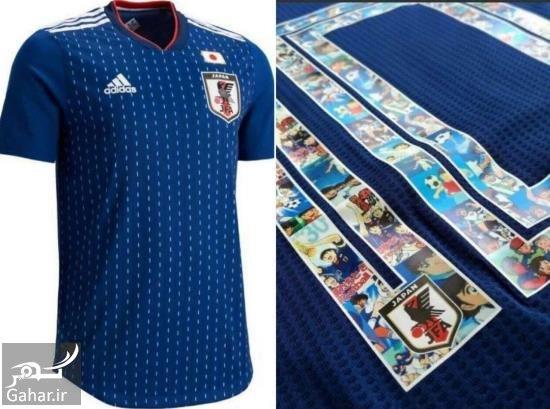 پیراهن تیم ملی ژاپن رونمایی از زیباترین پیراهن جام جهانی 2018