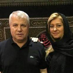 عکس علی پروین و دخترانش