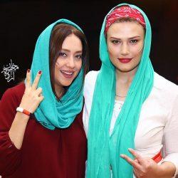 مهمانی خصوصی بازیگران به مناسبت بازی ایران مراکش / تصاویر
