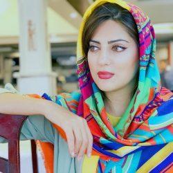 ظاهر جدید هلیا امامی با مدل موی جدید