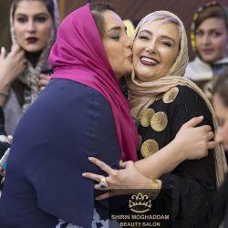عکس های جذاب کتایون ریاحی و نرگس محمدی در افتتاحیه یک سالن زیبایی