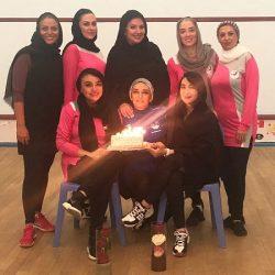 عکسهای تولد بازی بازیگران در تیم اسکواش هنرمندان
