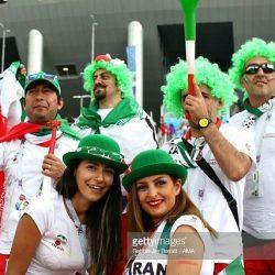 عکس تماشاگران ایرانی بازی ایران مراکش در روسیه / ۱۷ عکس
