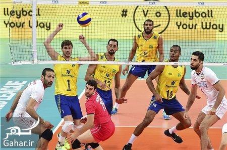 voleyball iran brazil زمان بازی والیبال ایران برزیل 19 خرداد 97
