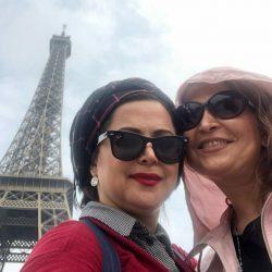 عکس های جدید کمند امیر سلیمانی در فرانسه