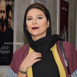عکسهای سحر دولتشاهی در اکران مردمی فیلم دلم میخواد