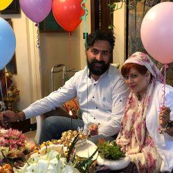 عکسهای سالگرد ازدواج بهاره رهنما و همسر جدیدش