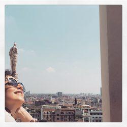 عکس های جذاب نازنین بیاتی در ایتالیا