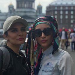 عکس های متفاوت خاطره اسدی در روسیه