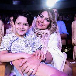 عکسهای جدید همسر و فرزند بابک جهانبخش در کنسرتش