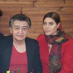 عکس جدید رضا رویگری و همسر جوانش