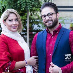 بابک جهانبخش و همسرش در مراسم تجلیل از ژاله علو / ۵ عکس