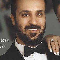 عکس عروسی احمد مهرانفر و همسرش / ۳ عکس جذاب