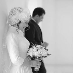 مراسم ازدواج الهام طهموری بازیگر نقش مهتاب در سریال پدر / ۵ عکس