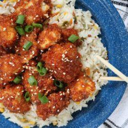 طرز تهیه غذای چینی ؛ تسو با گل کلم
